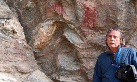 Descubren inédito sitio de arte rupestre en Tierra del Fuego