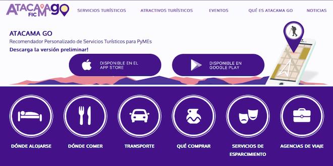 Universidad de Valparaíso crea aplicación móvil Atacama Go para potenciar a Pymes del turismo
