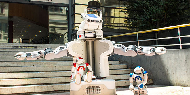 Ingenieros U. de Chile trabajan en el futuro de la interacción de humanos con robots