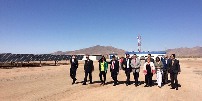 Inauguran la planta de energía solar más eficiente de Latinoamérica en Región de Coquimbo