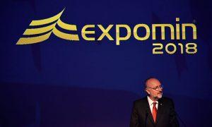 """Expomin 2018: """"Chile debe volver a ser el polo de atracción de inversión minera"""""""