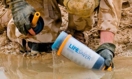 LifeSaver: convierte agua sucia en potable