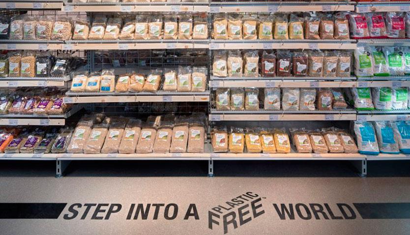 El primer pasillo de supermercado libre de plásticos