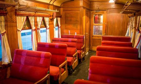 El Tren del Recuerdo llega al Monte para Expo CATAM