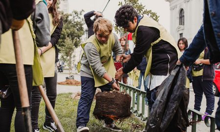 Comienza plan de arborización 2018 en Valparaíso