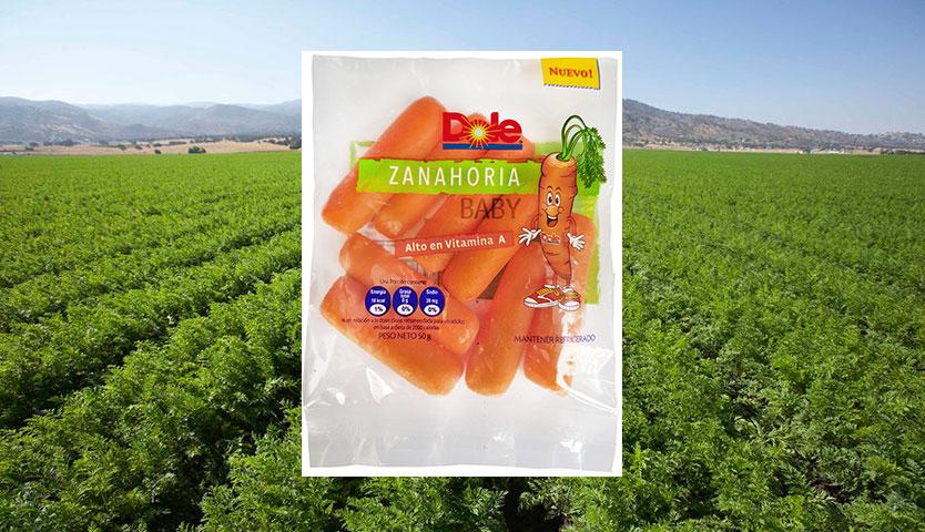 Zanahorias Baby Dole: snack rico y saludable