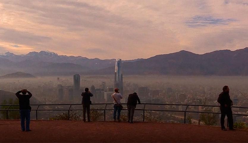 Medidas para descontaminar el aire de Santiago