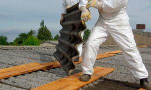 Revelan preocupantes cifras sobre ineficiencia en remoción de asbesto