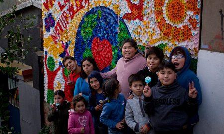 Niños de cerro Placeres recuperaron parte de la gran quebrada Cabritería