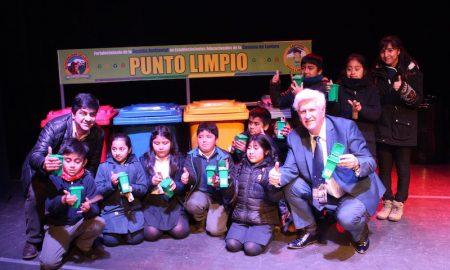 26 escuelas y liceos de Lautaro aprenderán a reciclar