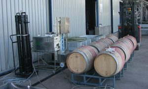 Ozono combate los contaminantes en la industria vitivinícola