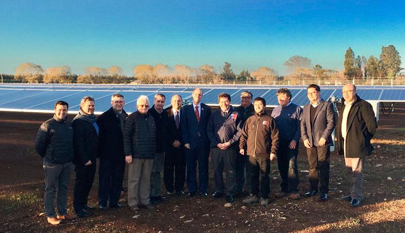 Las Palomas: el parque fotovoltaico más austral del mundo