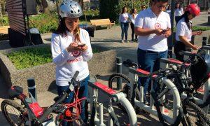 Metro inaugura moderno sistema de estacionamientos para bicicletas