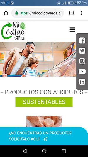Mi Código Verde: lugar de reunión para consumidores sustentables