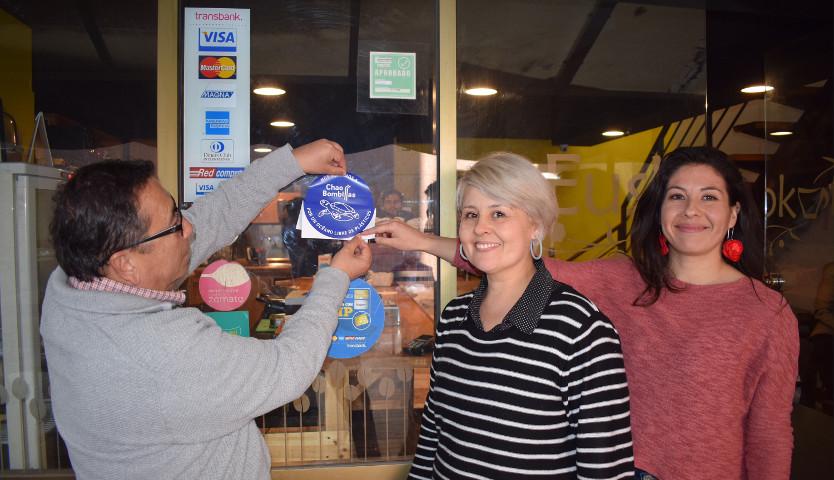 Restaurantes de Santiago Downtown se suman a campaña para reducir el uso de bombillas de plástico