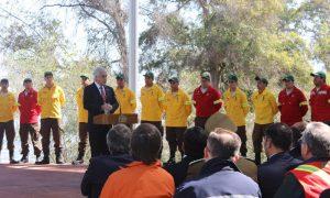 Gobierno aumenta recursos para combatir incendios forestales en Chile