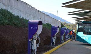Primer electroterminal de transporte público ya tiene 80% de avance