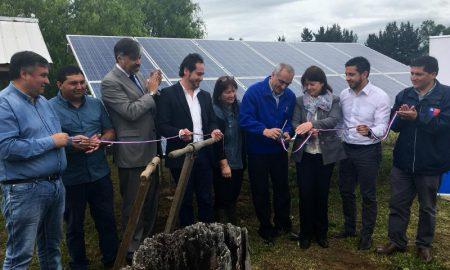 Productores de berries de Los Ríos se suman a la energía solar