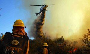 5 regiones del país presentan riesgo de incendios forestales