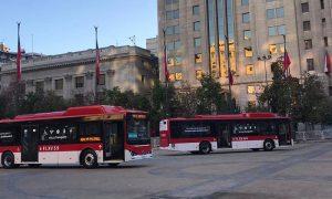 Nueva flota de 100 buses eléctricos recorrerá las calles de Santiago