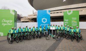 E-ciclistas llegan hasta la COP24 en Polonia
